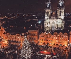 christmas, travel, and city image