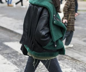 biker, fashion, and outfit image