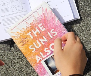 beatles, book, and the sun is also a star image