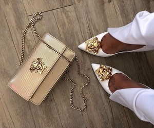 shoes, fashion, and Versace image