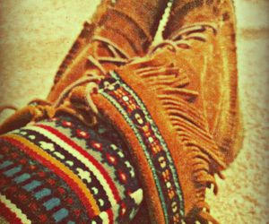 hipster and shoes image