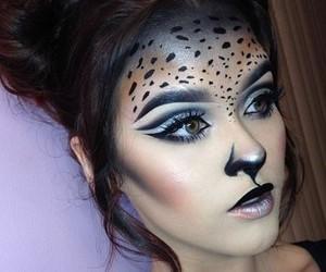animal print, contest, and makeup image