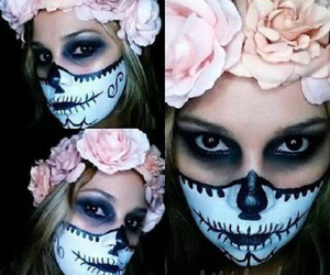 Halloween and maquillaje image