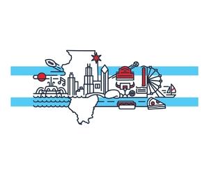 chicago, illinois, and threadless image