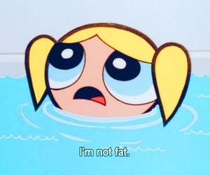 fat, bubbles, and powerpuff girls image