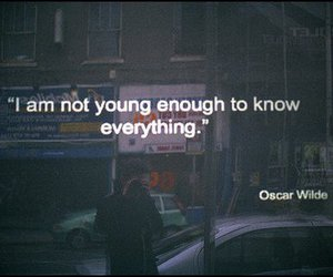 quote, oscar wilde, and text image