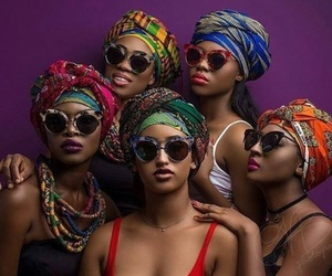 African, Afro, and colors image