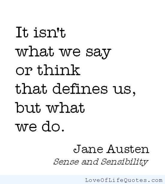 quotes, jane austen, and life image
