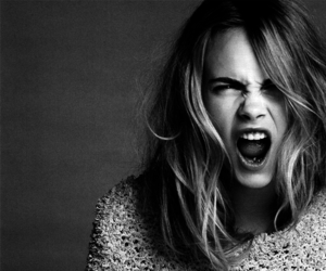 beauty, delevingne, and inteligent image