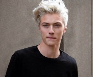 boy, model, and lucky blue smith image