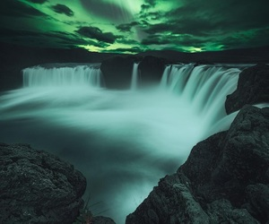 iceland and northernlights image