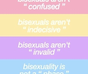 bisexual, blue, and pink image
