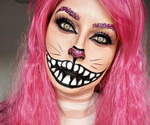 Cheshire cat, contest, and Halloween image