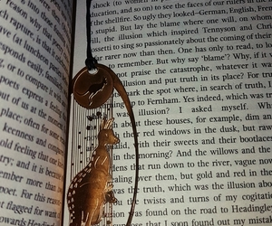 books, gold, and reading image
