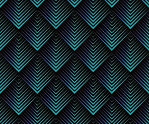 3d, geometric, and green background image