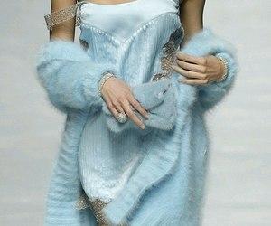 blue, fashion, and miu miu image