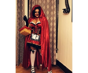 cape, costume, and dress image