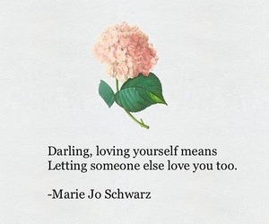 darling, quotes, and love image