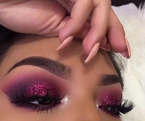 goals, makeup, and pink image