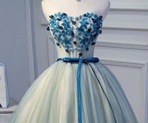 fashion, party, and prom dress image