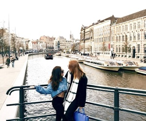 amsterdam, girl, and friend image