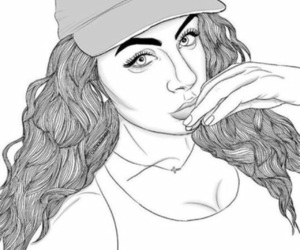 110 Images About Tumblr Girl Drawing On We Heart It See More About