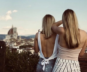 florence, girls, and inspiration image