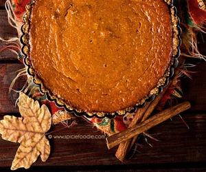 autumn, fall, and Pumpkin Pie image