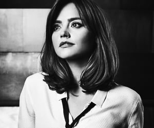 jenna coleman, clara oswald, and doctor who image