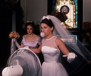 runaway bride, julia roberts, and bride image