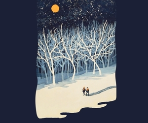 forest, illustration, and threadless image