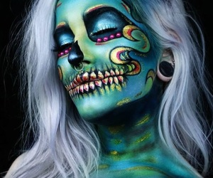 Halloween, makeup, and NYX image
