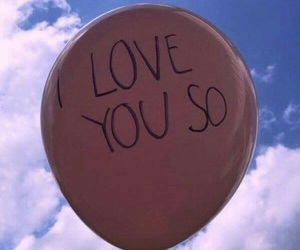 love, sky, and pink image