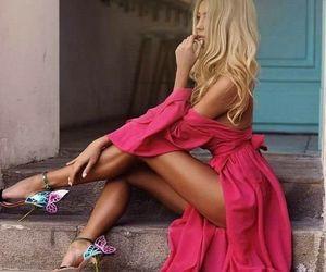 dress, fashion, and chic image