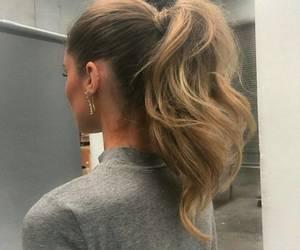 blond, cheveux, and haïr image