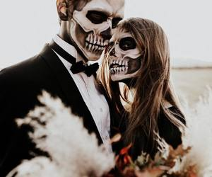 autumn, costume, and couples image