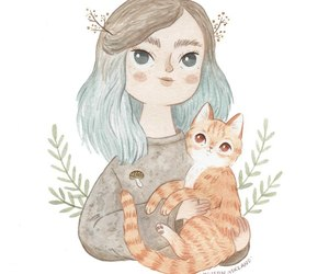 art, painting, and cute image