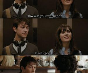 500 Days of Summer, funny, and gym image