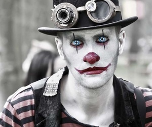 Halloween and clown image