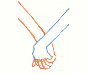 holding hands, Relationship, and love image