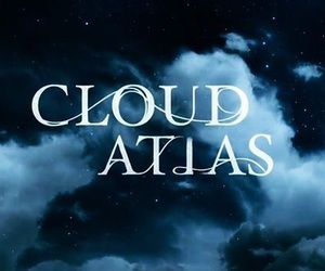 typography, cloud atlas, and film title image