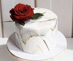 cake, fancy, and food image