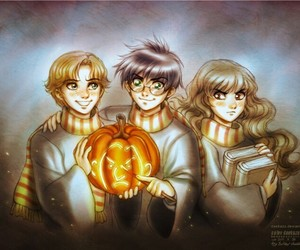 harry potter, Halloween, and book image