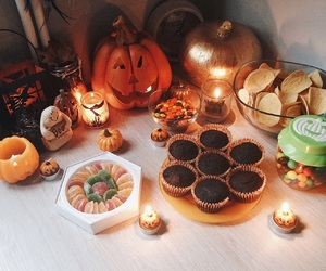aesthetic, decor, and Halloween image
