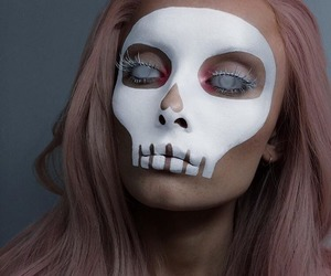 Halloween, halloween makeup, and girl image