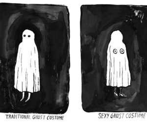 ghost, funny, and costume image