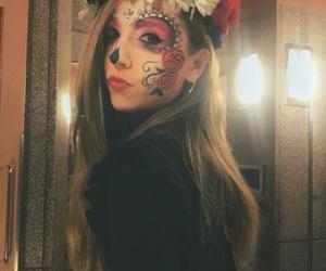 calavera, corona, and costume image