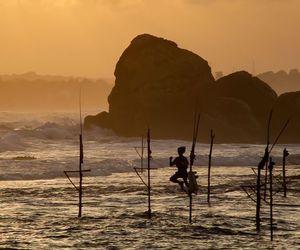 wanderlust, Sri Lanka, and sunset image