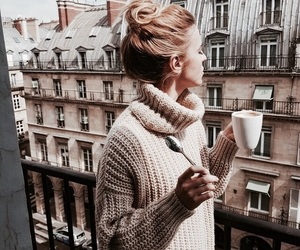 fashion, coffee, and paris image