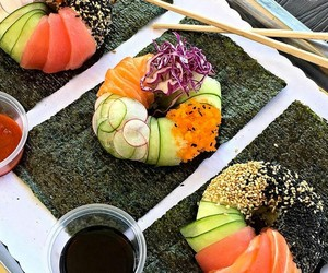 fusion, healthy, and japanese image